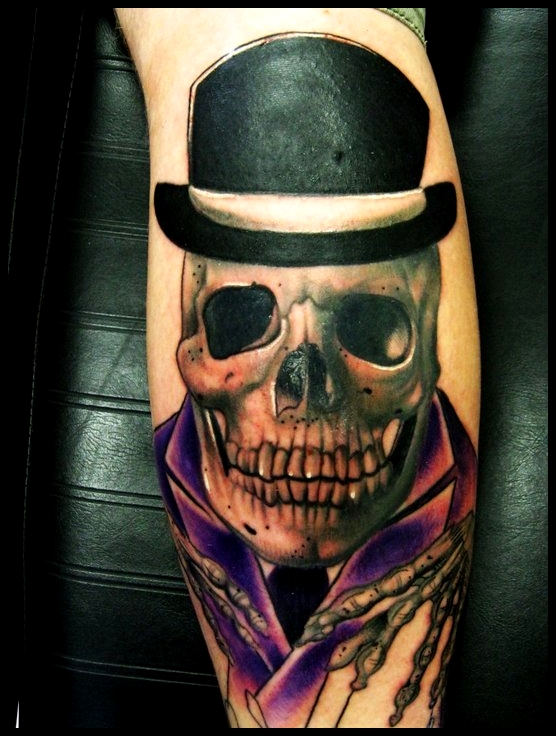 Skulls With Top Hats Skull in a Top Hat by Louis
