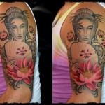 louis geisha sleeve healed with cali frame