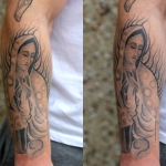 Chicano sleeve