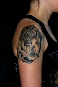 Medusa Tattoo by Louis Santos Leeds