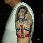 Morrissey tattoo by Louis Santos