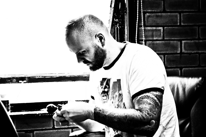 Joe Galloway | Familia Custom Tattoo Artist Leeds